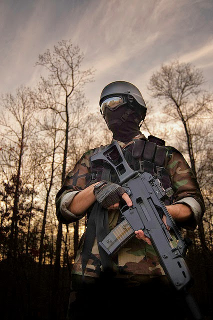 Airsoft - protections indispensables