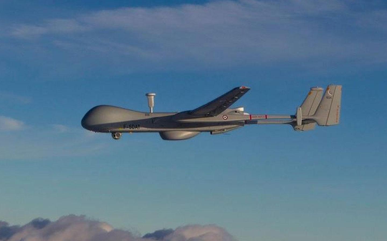 Le drone Harfang utilisé actuellement par l'armée Française