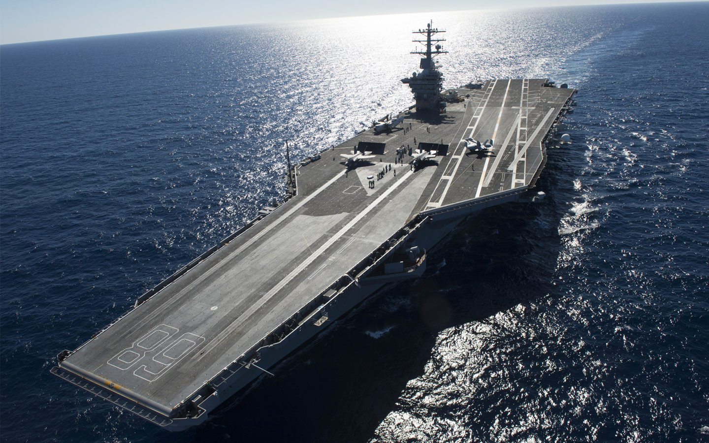 Le futur porte avions uss john f kennedy commence for Porte avions gerald r ford