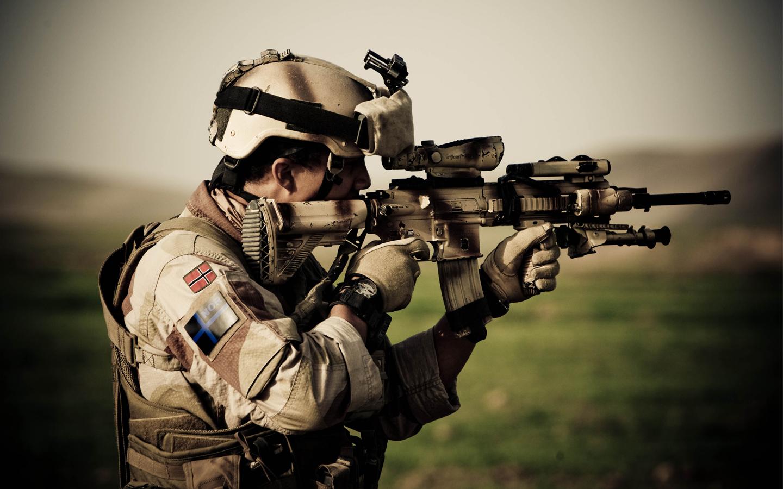 Croissant Le nouveau fusil de l'armée Française, le HK 416F testé par la NA-52